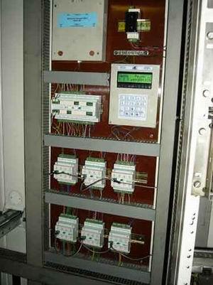 Шкаф системы управления нижнего уровня